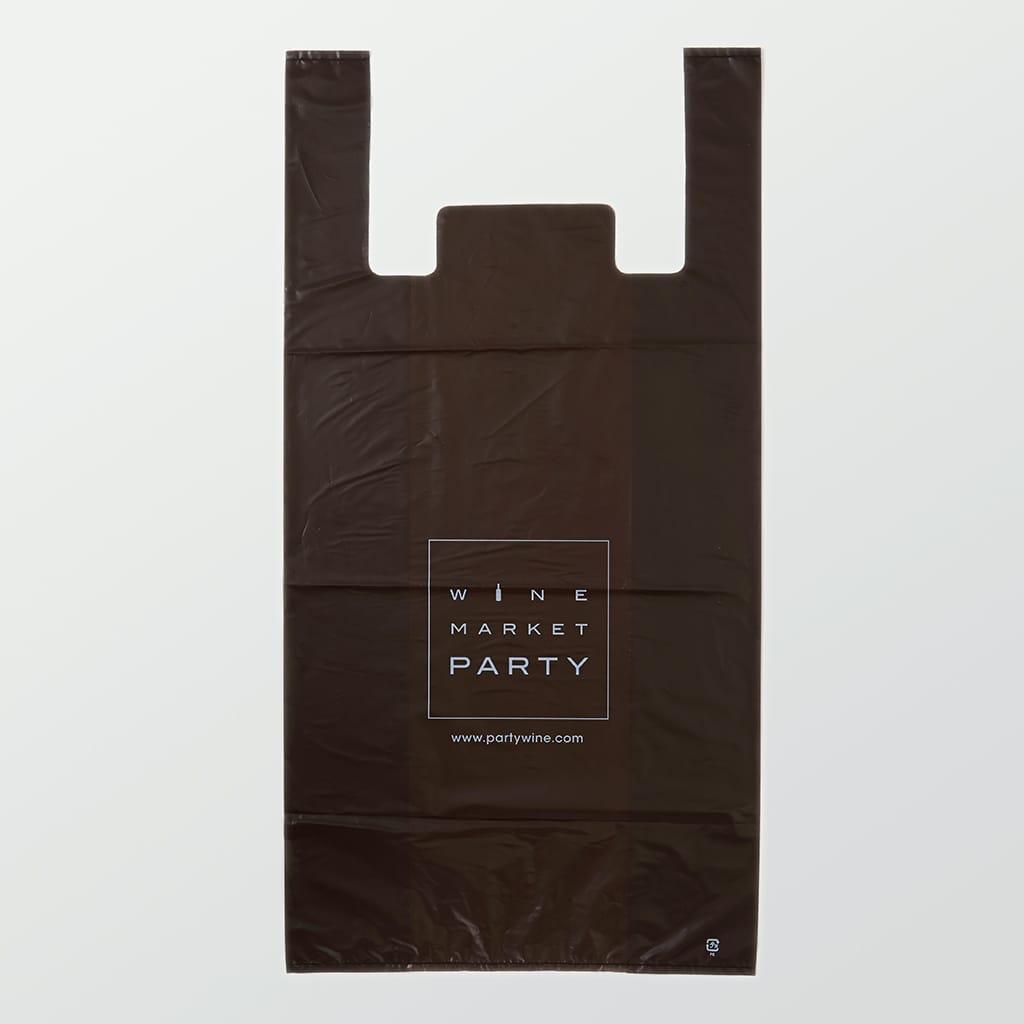 ワイン専門ショップのレジ袋