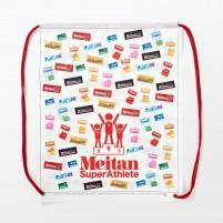 スポーツ、健康サプリメントの販促バッグ